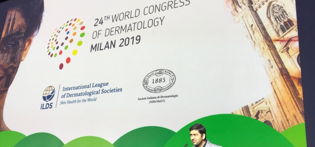 Dr Abhay Talathi at Milan